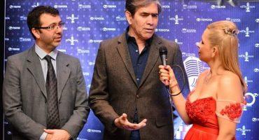 El saludo de César Herrera y Diego Delfino en el Día del Contador Público