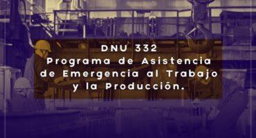 Estructura del programa de asistencia de emergencia al trabajo y a la producción