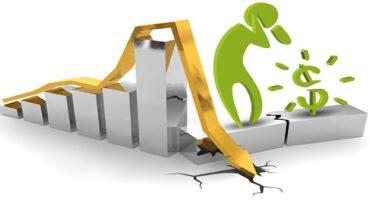 Estancamiento, recesión y derrumbe